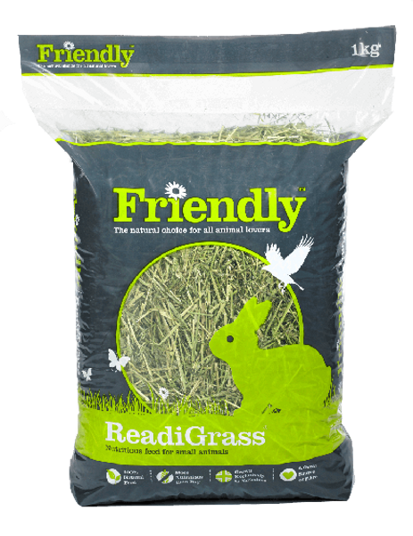 Friendly Pure Dried ReadiGrass 1kg