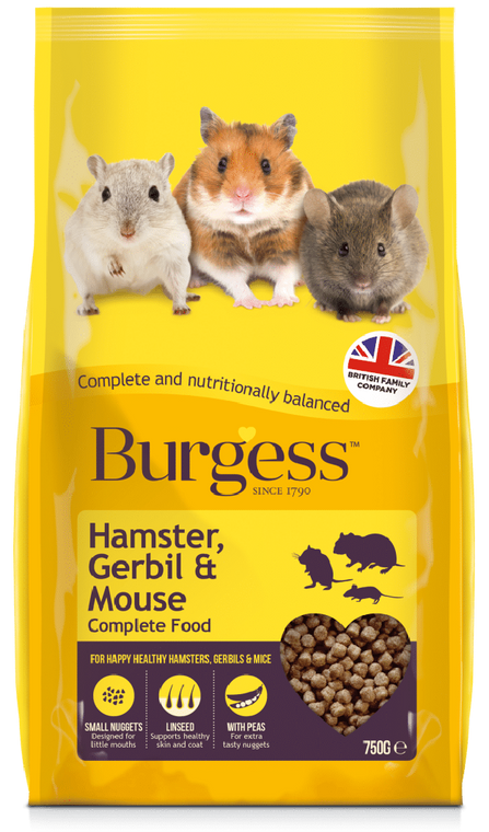Hamster, Gerbil & Mouse Complete 750g