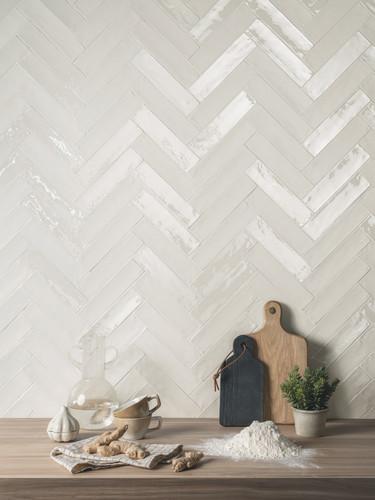 Lacie Brick- Bianco Matte