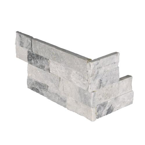 "Colombier 6x18- Arctic Snow Corner ""L"" Panel"