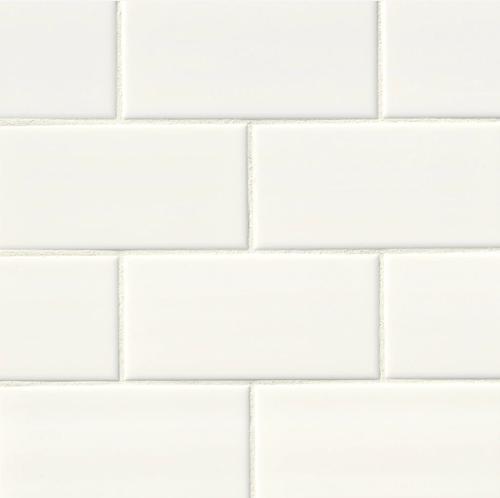 3x6 Subway- White