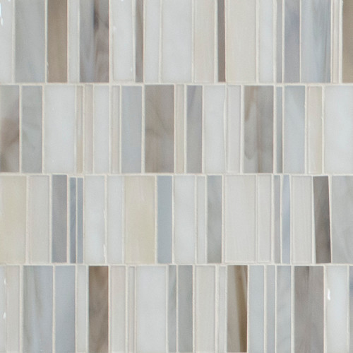 Claire Waterfall Glass Mosaic