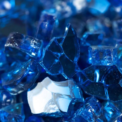 Royal Blue Fire Glass