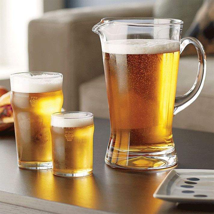 What's the difference in beer glasses? Courtesy of Crate & Barrel