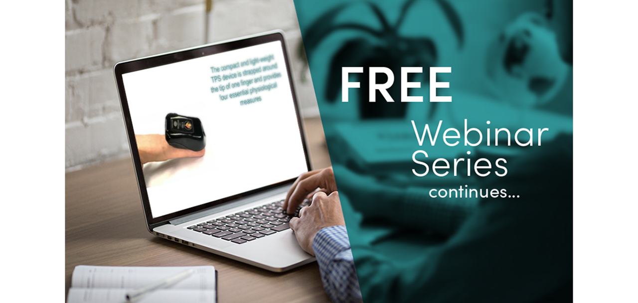 Thought Technology's FREE Webinar Series...Continues