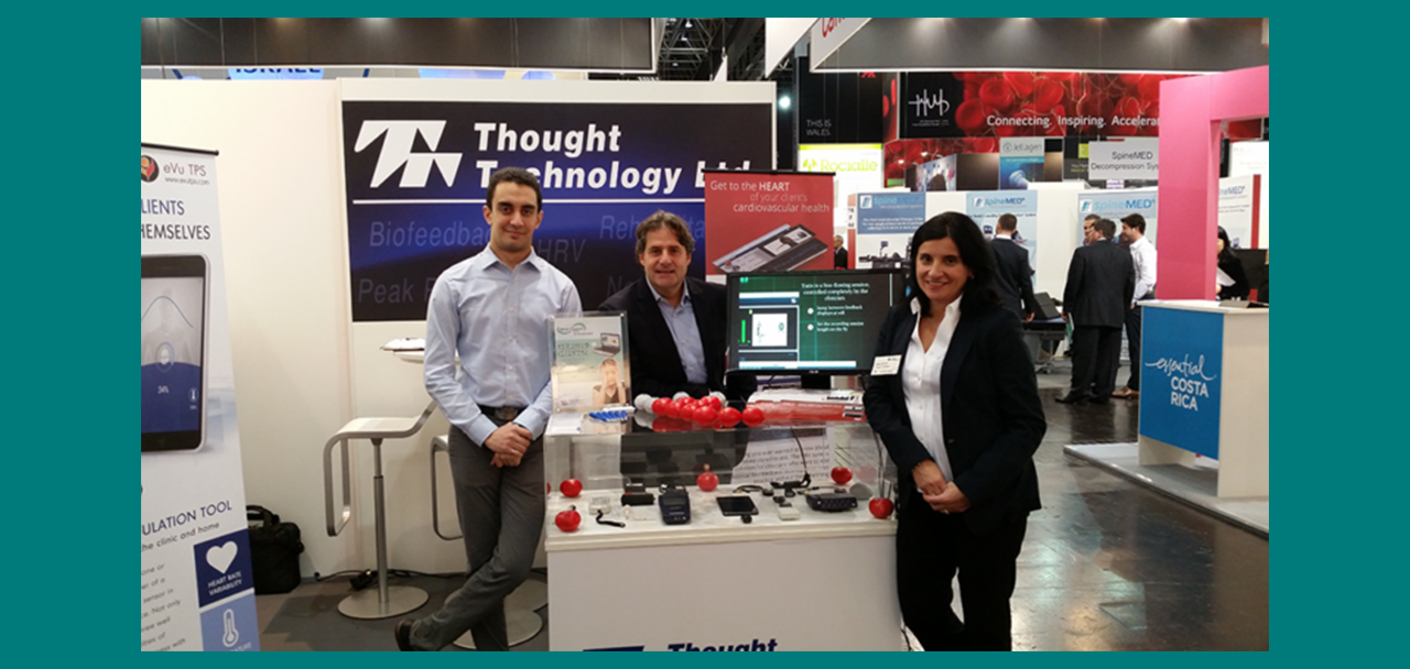 Thought Technology @ MEDICA 2016