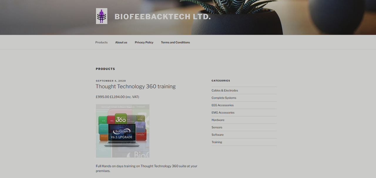 Thought Technology Ltd Continues to Grow International Distribution Network with UK Partner