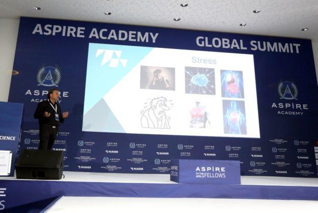 Frank Degregorio at aspire academy conference
