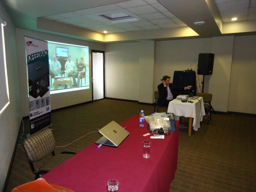 Frank DeGregorio at a BioGraph Workshop in Mexico 4
