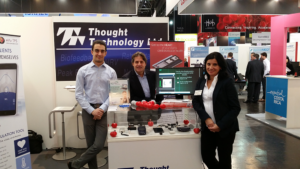 thought technology distributor group photo at MEDICA 2016