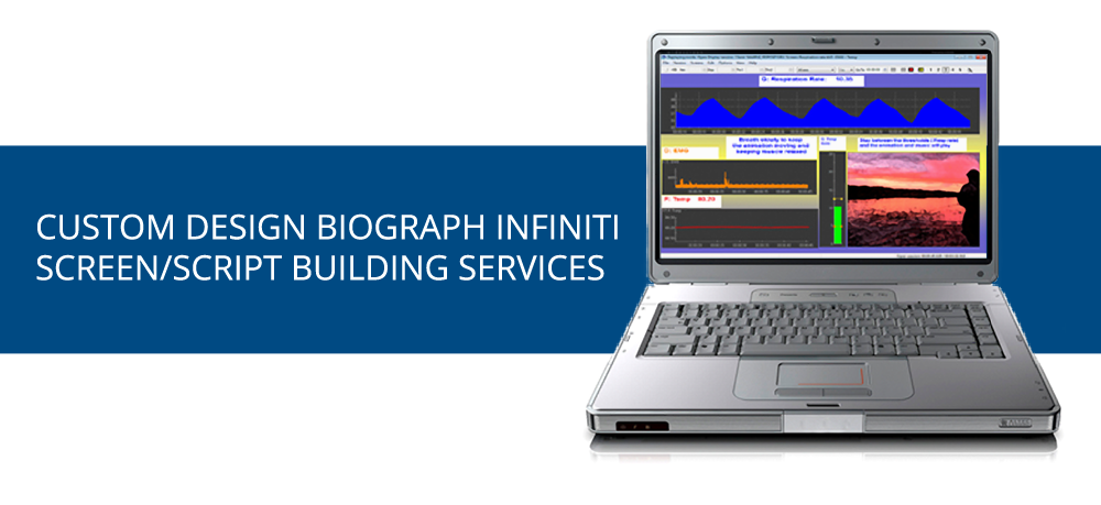 Custom Infiniti BioGraph screen