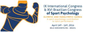 Logo of Bzilian Congress of Sport Psychology
