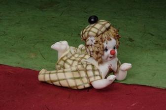 Porcelain Baby Clown Min.6 pcs wedding party favors clearance