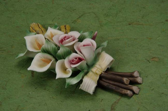 Calla Lilly Porcelain Flower wedding party favors clearance