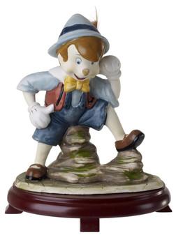 Pinocchio Centerpiece Replica On Wood