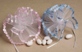 Small Daisy Edge Netting 25 pc bag wedding party favors sale