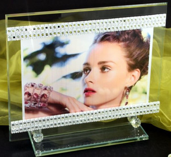 Debora Carlucci Wedding Photo Frame Made With 100% Swarovski Crystal wedding party Gifts