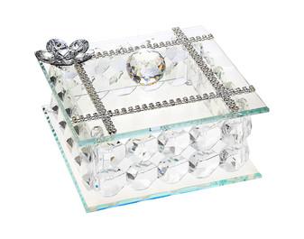 Crystal Jewelry Box Made of Swarovski Crystal