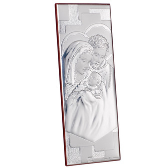 Holy Family Sterling Silver Icon Argento  Religious (Favor)