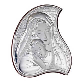 Italian 925 Silver Madonna w/ Child