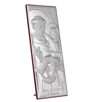 Silver Saint Anthony Portrait