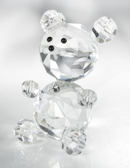 Crystal Swarovski Bear Figurine Communion