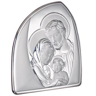 Holy Family Italian 925 Silver Argento