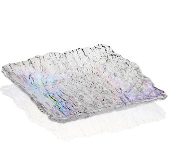 candy dish Murano  prism color