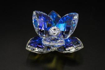 Italian Crystal Lotus Clear Flower