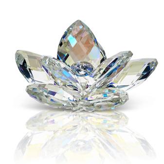 Crystal Lotus Waterlily Flower