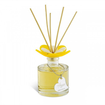 Decorative Reed Diffuser with  Flower Top Argan Scent