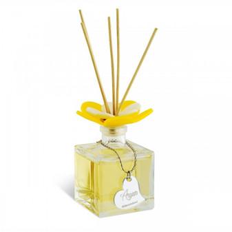 Decorative Reed Diffuser Flower Top Argan 3.5 oz