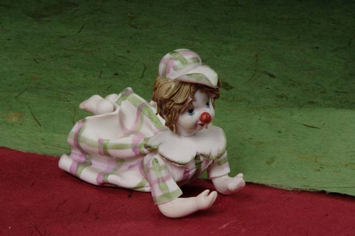 Baby Porcelain Clown Min.6 pcs wedding party favors clearance