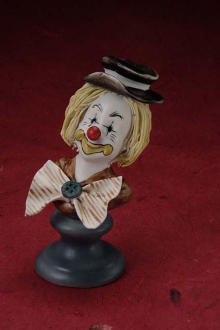 Porcelain Clown Bust Party Favors