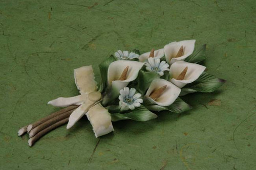 Porcelain Flower wedding party favors clearance