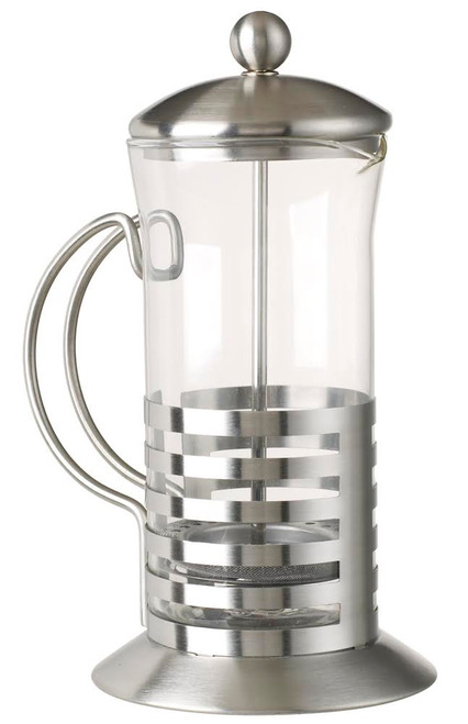 Stainless and Glass French Press Pot