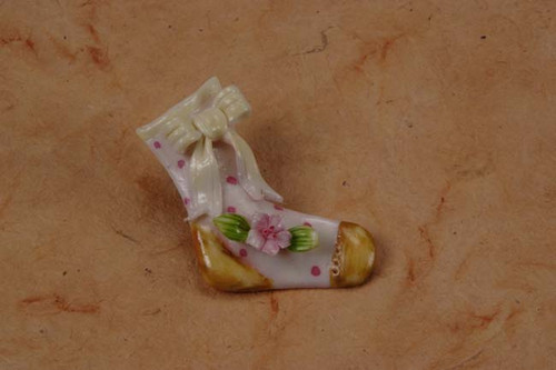 Italian Porcelain Baby Stocking Pin Min.24pcs wedding party favors clearance