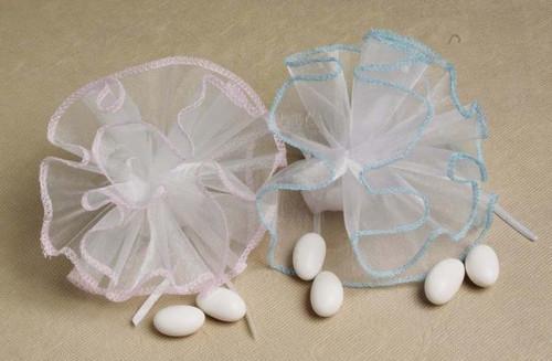 Iridescent Trim Netting 25 pcs per bag wedding party favors clearance