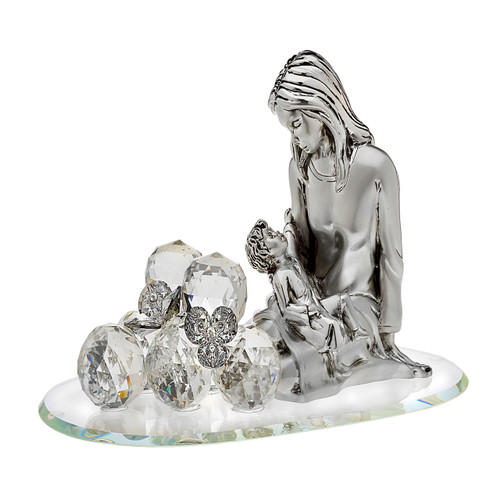 Italian 925 Silver Maternity With Swarovski Crystals
