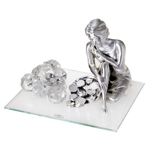 Debora Carlucci Goddess of Fortune figurine wedding gift