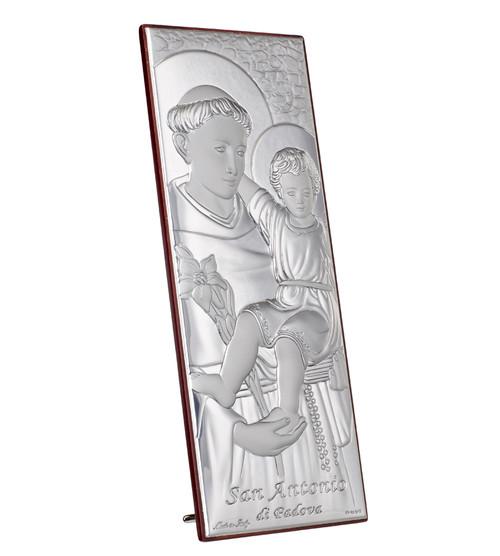 Silver Saint Anthony Portrait