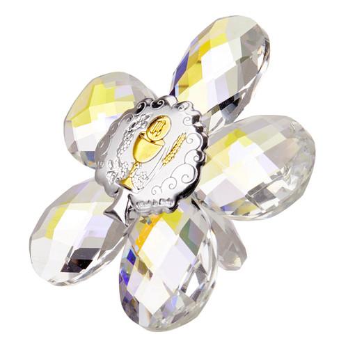 Debora Carlucci 24% Crystal Star Shaped Argento Chalice Icon