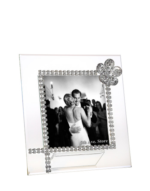 Frame with Sunflower Made With Swarovski Crystal wedding party gifts