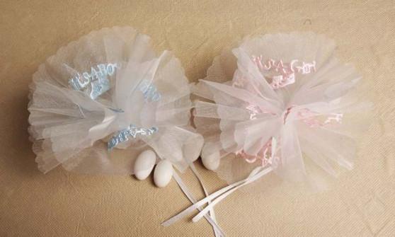 It's a Girl It's a Boy Netting 25 pc bag wedding party favors sale