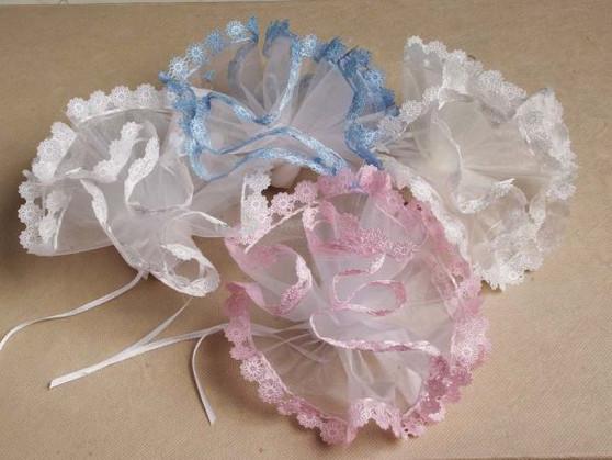 New Daisy Edge Netting  25 pcs bag wedding party favors sale