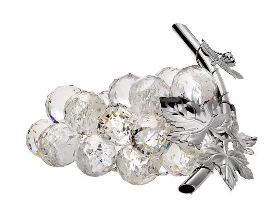Debora Carlucci Grapes 925 Silver Leaf Made Of 100% Swarovski Crystal wedding gifts sale