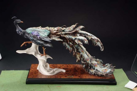 Giuseppe Armani Collection Peacock Figurine 0455S
