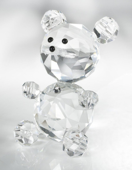 Crystal Swarovski Bear Figurine Communion