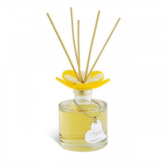 Decorative Aroma Diffuser Flower Top Argan Round