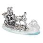 Italian 925 Silver Bridal Carriage Figurine